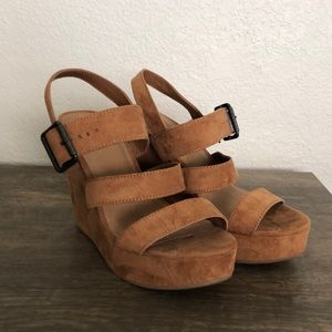 Mossimo sandal wedges